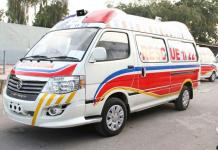 Two killed, six injured in a road accident in Havelian