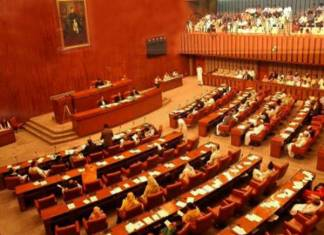 Opposition in Senate flays govt over flour crisis and wheat shortage