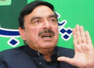 AML Chief Sheikh Rasheed booked for violating ban on fireworks