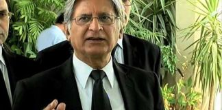 PPP nominates Aitzaz Ahsan for president