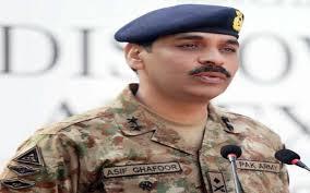 DG ISPR Major General Asif Ghafour