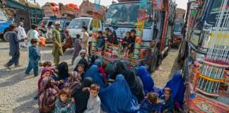 Afghan refugees