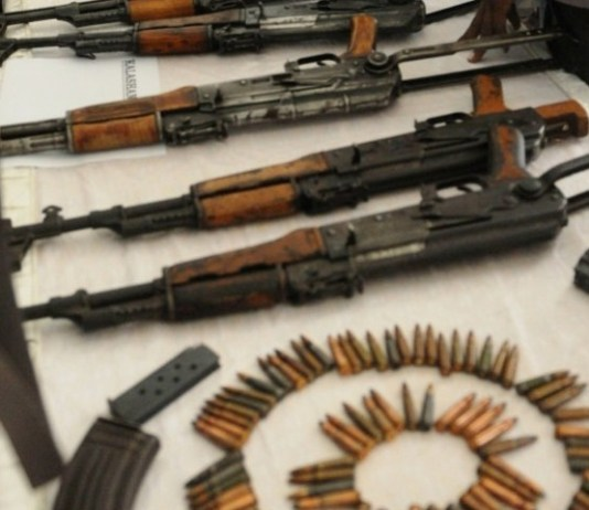 Terror bid foiled, arms recovered in Peshawar