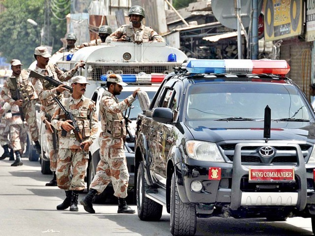 Sindh government extends Rangers policing power for 90 days