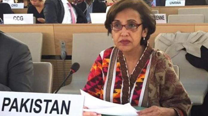Pakistan foreign secretary Tehmina Janjua