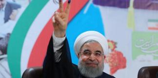 Iran's president Hassan Rouhani declares end of IS