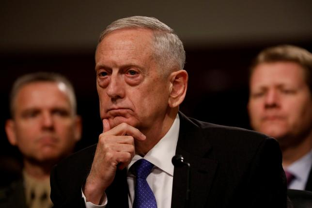 U.S. Defense Secretary Mattis to arrive in Islamabad today