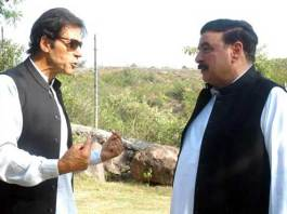 Imran Khan-Sheikh Rashid