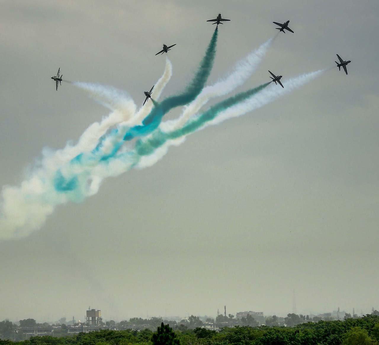 Fatima Jinnah Park Islamabad: PAF's Mega Air Show Underway In Islamabad