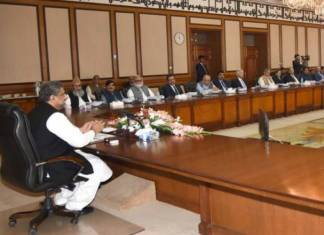 Federal Cabinet meets, forms committee on ECL's matter