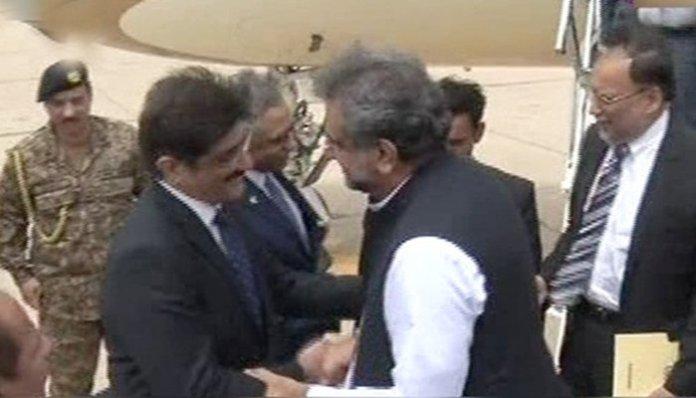 PM Abbasi in Karachi