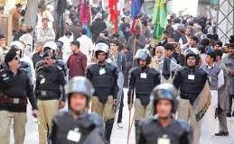 Muharram procession in Peshawar