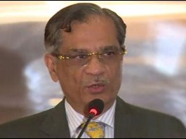 Chief Justice of Pakistan Justice Saqib Nisar