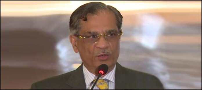 Chief Justice of Pakistan Justice Saqib Nisar