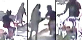 Karachi knife attacker