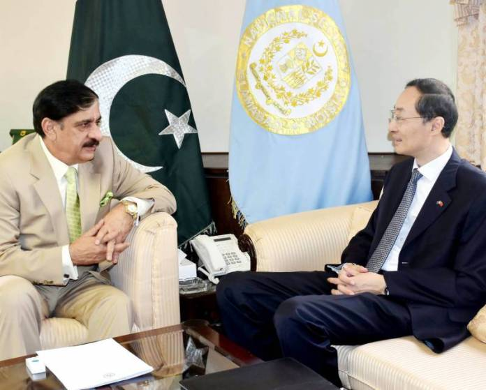 Nasir Janjua meeting with Chinese Ambassador
