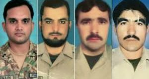 Martyred Pakistan army officers