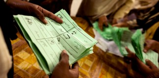 Process of printing ballot papers commenced under army's supervision