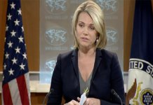 Heather Nauert US State Department Spokesperson