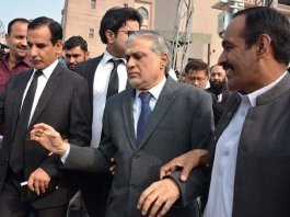 Accountability court declares Dar absconder in NAB's assets reference