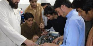 Technical training programme for FATA youth