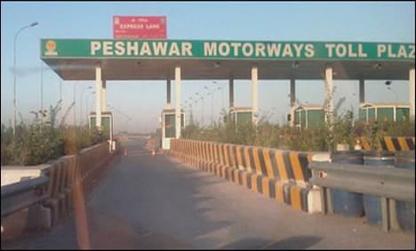 Peshawar-Islamabad motorway M1