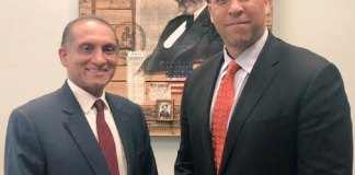 Aizaz and US senator for Afghanistan