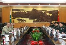 Pakistan-China military leadership meeting in Beijing