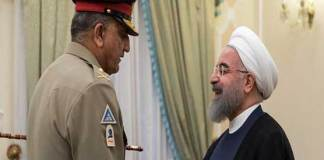 Army Chief Qamar Javed Bajwa Iran visit