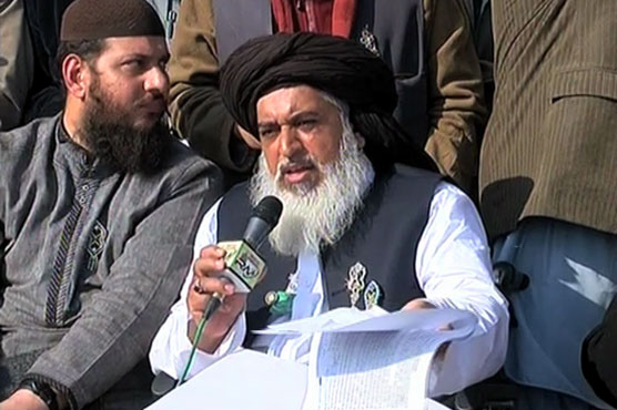 Tehreek-e-Labbaik chief Khadim Hussain Rizvi