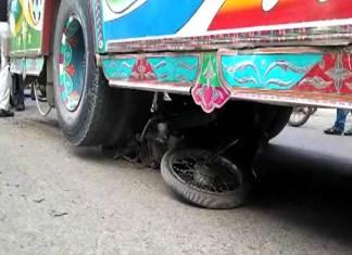 minor girl crushed to death in Karachi