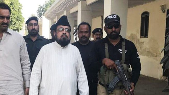 Mufti Abdul Qavi arrives for court hearing