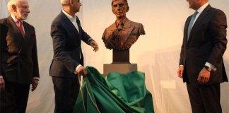 Quaid's bust in British museum