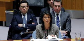 U.S. threatens action against Iran after Russia U.N. veto