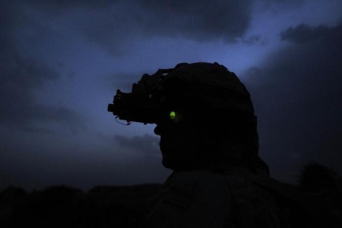 Taliban using night vision googles