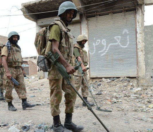 Security forces operation in North Waziristan and Orakzai Agencies
