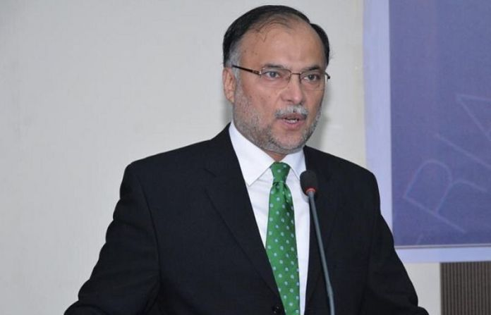 Interior Minister Ahsan Iqbal shot injured in Norowal