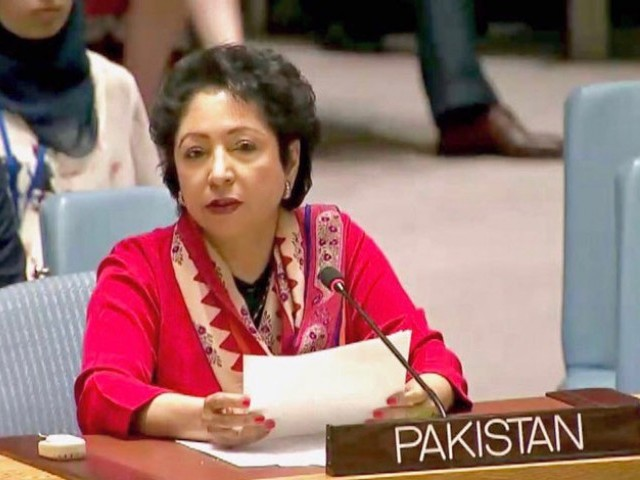 No peace without resolving Kashmir, Palestine issues: Maleeha