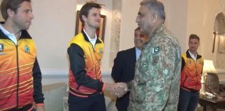 Army Chief meets international hockey players: SIPR