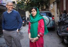 Apple, Malala to venture for girls' education