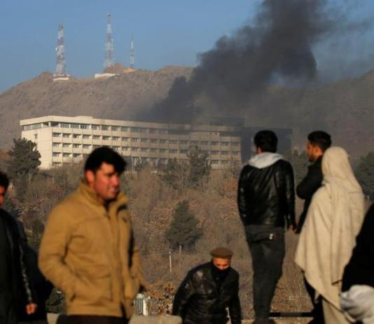 18 dead in Taliban attack on Kabul hotel