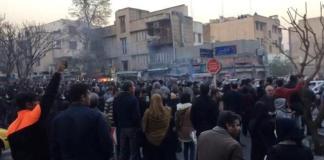 Iranian police crackdown