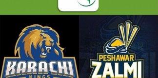 Peshawar Zalmi take on Karachi Kings tonight