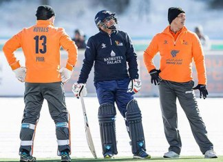 Afridi's Royals XI beat Sehwag's Diamonds in 2nd ice cricket T20I