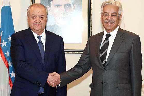 Uzbekistan Foreign Minister calls on Khawaja Asif