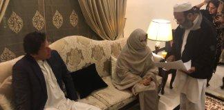 Imran Khan, wife reaches Bani Gala