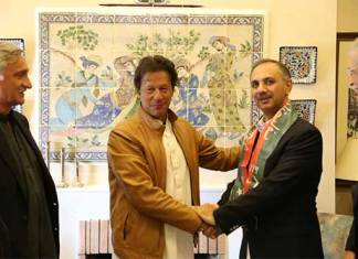 Former PML-N MNA Umer Ayub joins PTI