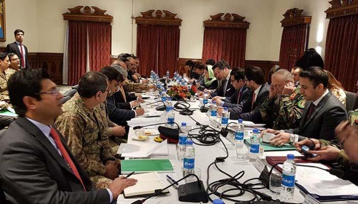 Pakistan-Afghanistan meeting
