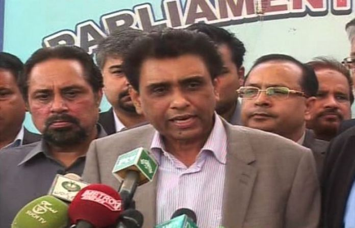 MQM-P to give befitting reply to PPP for its rally in Liaquatabad