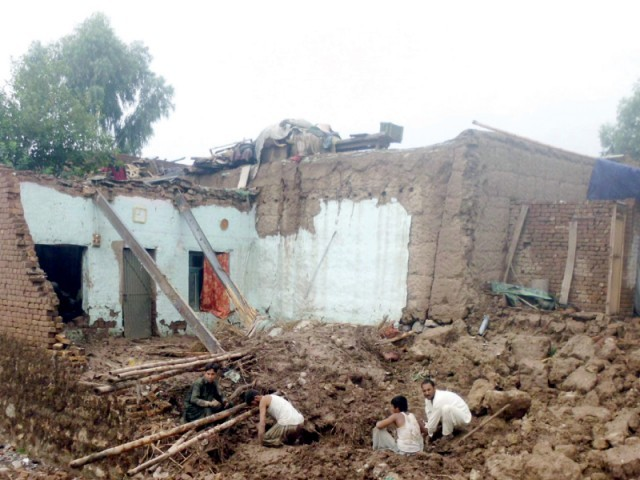 Seven children killed in roof collapse incident in Bajaur